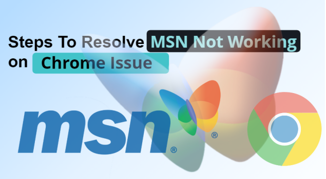 MSN not working chrome