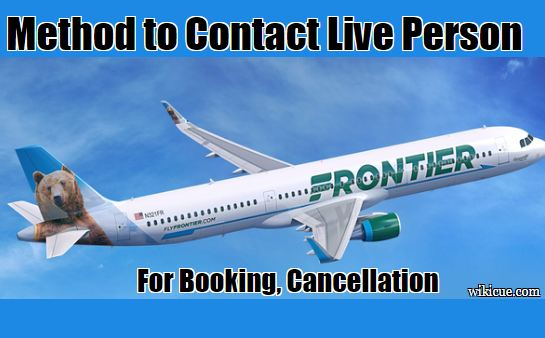 Frontier Airlines Live Person