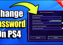reset playstation password