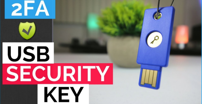 Yubico Security key