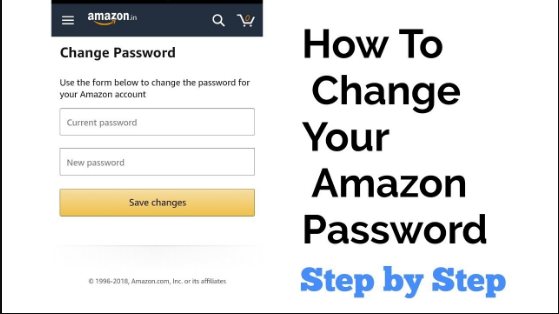 Change Amazon Password