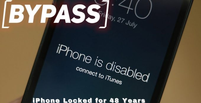 iPhone locked for 48 years