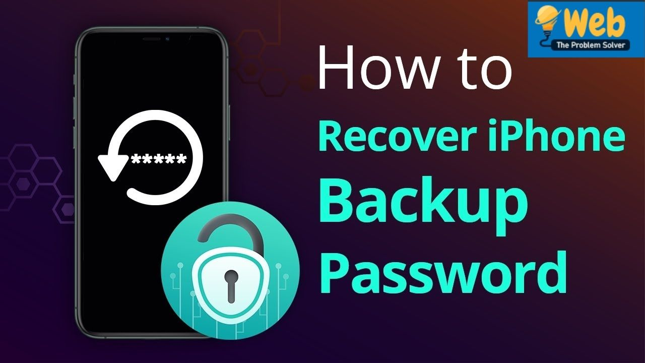 Enter Password to Unlock iPhone Backup